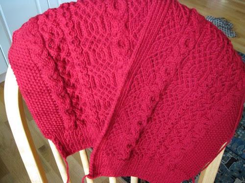 Knitting, Am Kamin