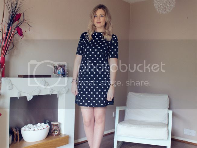 polka dot shit dress