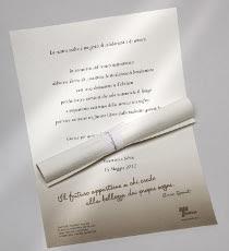 Pergamena solidale per il matrimonio