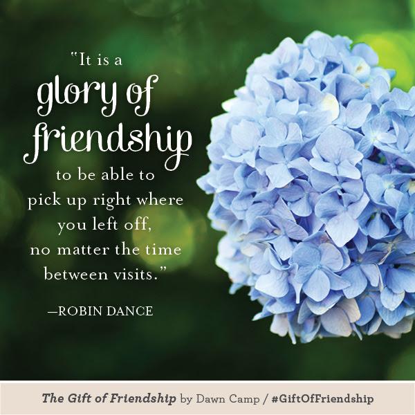 Robin Dance The Gift of Friendship #GiftofFriendship
