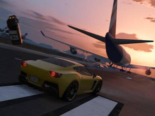Aviões não têm armas, mas são mais fáceis de obter em GTA 5 (Foto: Reprodução)