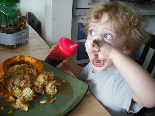 Supertoddler and the Pumpkin