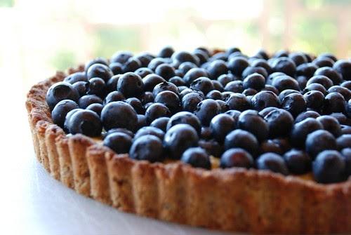 Nina's blueberry tart