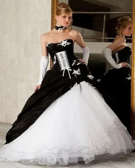 Online Get Cheap Black Gothic Wedding Dresses  Aliexpress