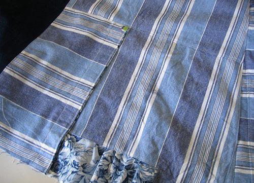 blue skirt :: #2 :: blått skjørt