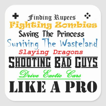 Like a Pro sticker