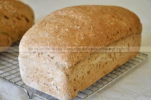 Pão de aveia e mel inteiro
