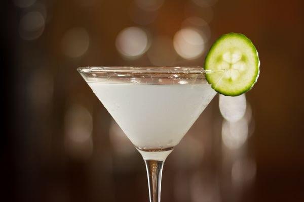 receitas de drinks cucumber martini