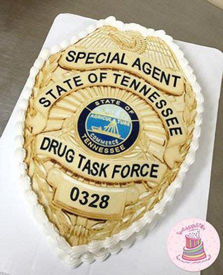 Custom Cakes Memphis, TN   Retirement parties   Police