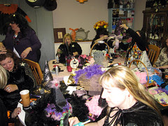 Witches Tea: Crafting the Hats!