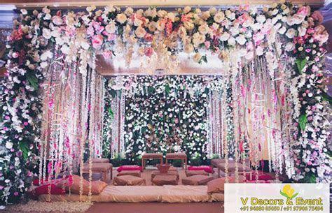 Best wedding Reception stage decoration   Best Wedding