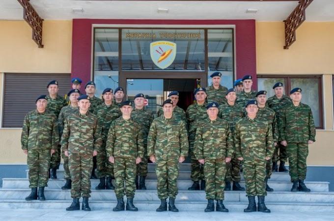 Ο Αρχηγός ΓΕΣ στη Μεραρχία Υποστήριξης για τη σημαντική αποστολή που επιτελεί – ΦΩΤΟ