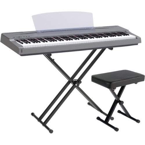 digital piano gallery yamaha p65msb 88 key weighted graded hammer action keys comes with stand. Black Bedroom Furniture Sets. Home Design Ideas