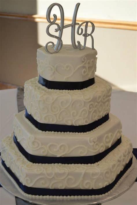 Four tier hexagon wedding cake   My cakes   Hexagon