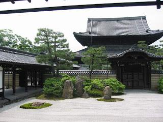 Peaceful Temple Gardens