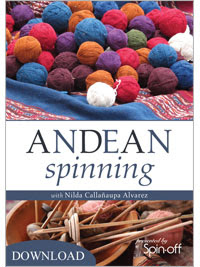 Andean Spinning with Nilda Callanaupa Alvarez