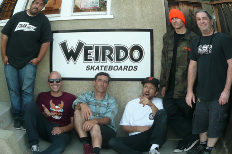 Weirdo Skateboards  Pro Quality Skateboarding Products \u0026quot;For the Rest of Us\u0026quot;