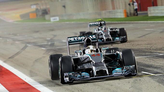 Lewis Hamilton - Fórmula 1 - GP Bahrain 2014