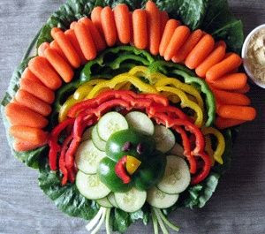 Turkey Veggie Tray