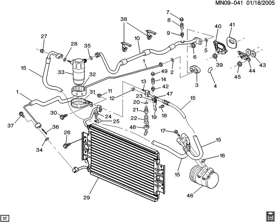 oldsmobile engine diagram