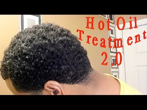 Curly Hair Deep Waves Hot Oil Treatment YouTube