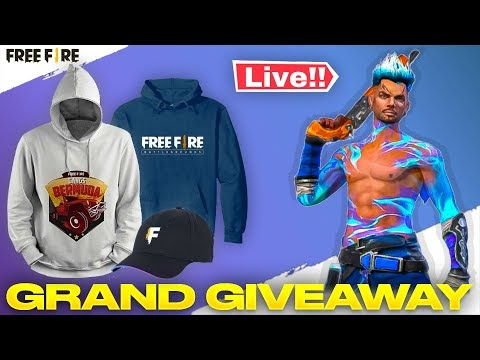 Free Fire Live Merchandise Giveaway Tonde Gamer - Garena Free Fire