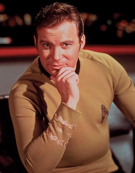 William Shatner as James T Kirk