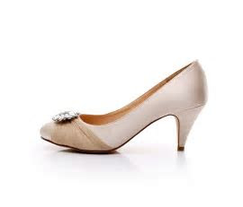 satin bridal shoes rhinestone wedding shoes low heel dress