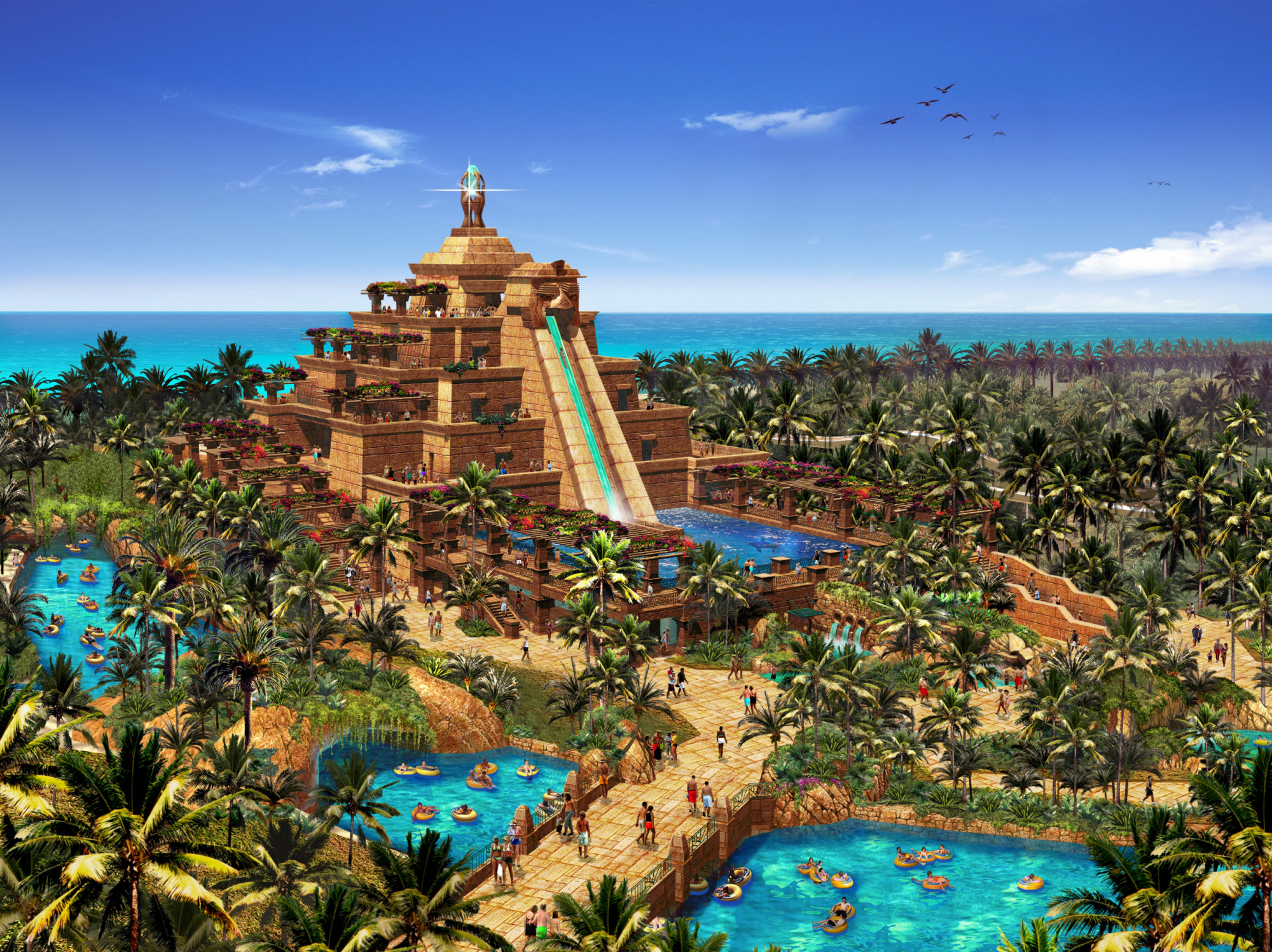 Enjoy and Relax on Atlantis Aquaventure Most Famous Water Park in Dubai