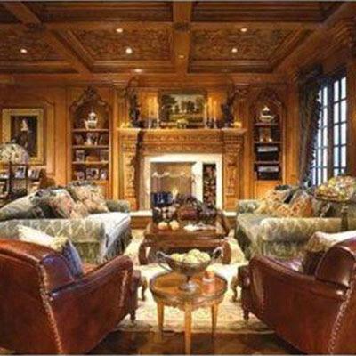Inside Rich Houses Living Room