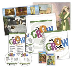It's Grow Time Jr. Church Kit - Year 1