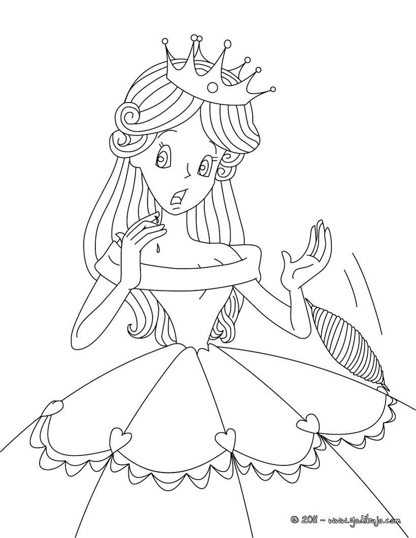 Dibujos Para Colorear El Cuento La Bella Durmiente Eshellokidscom