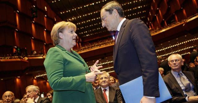 """Eurocrisi, Spiegel: """"Merkel ha chiamato Draghi per chiarimenti su austerità"""""""