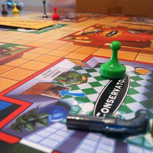 Family fun! #clue #boardgames