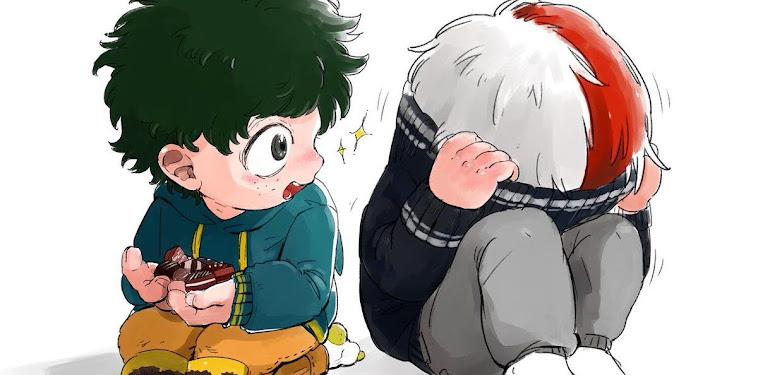 Boku No Hero Academia Todoroki And Deku Child