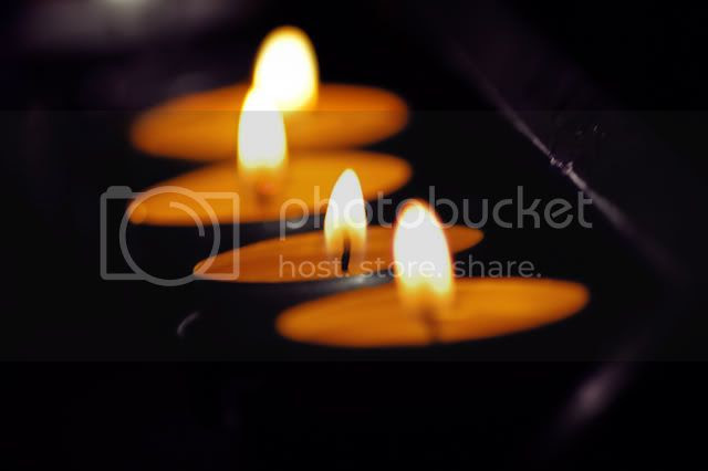 Thanksgiving Tea Light Candles [enlarge]