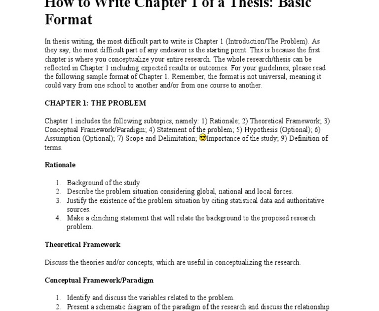 Essay about characteristic