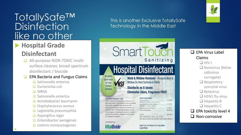 Cleaning and infection control systems ppt