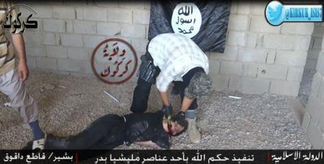 η σφαγή του πολιτοφύλακα στο Κιρκούκ