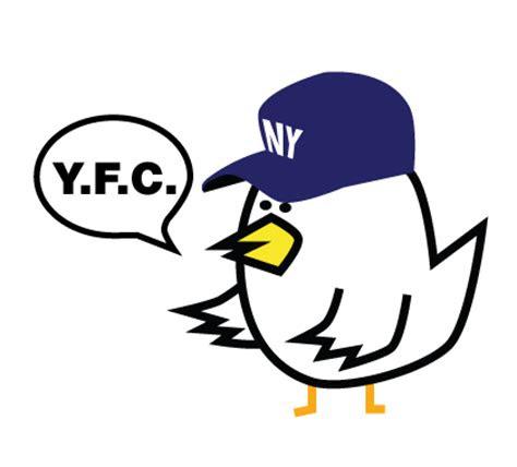 yoshi fried chicken logo design hamburgerandfries