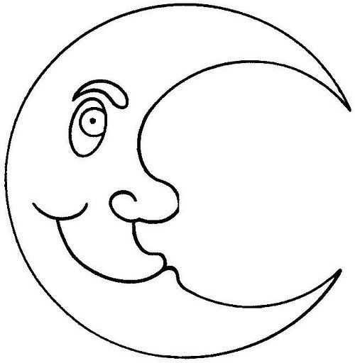 Ay Boyama Sayfasi 8 Okul öncesi Etkinlik Faliyetleri