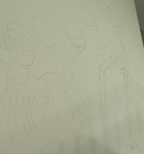 mural sketch,BingoRage brokenvultureart