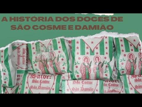 A história e os significados dos doces de São Cosme e Damião