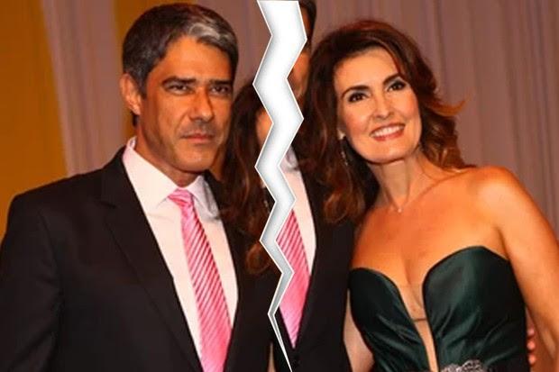 William Bonner e Fatima Bernardes (Foto: Ego )