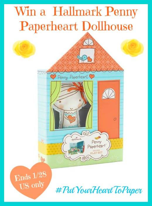 Ente the Penny Paperheart Dollhouse Giveaway. Ends 1/28.