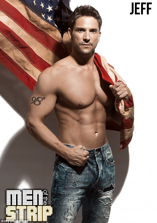 We pledge allegiance: Jeff Timmons is a co-creator, host, and performer of new adult male review tour 'Men of the Strip'