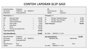 Download Slip Gaji Pdf Contoh Makalah