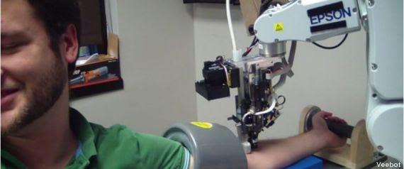 robot prise de sang