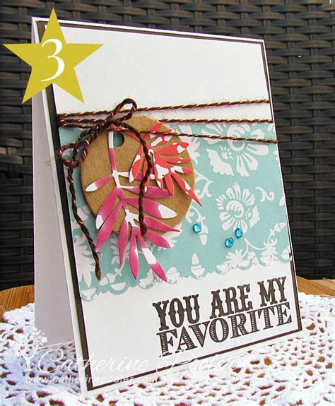 The Best Blogger Crafts: You Are My Favorite DIY Card