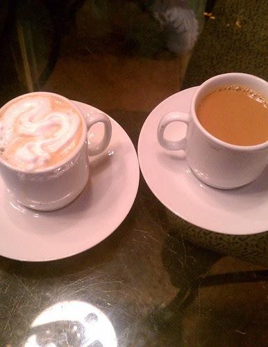 Cafe au lait taste testing